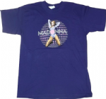 CONFESSIONS TOUR - OFFICIAL PURPLE DISCOBALL T-SHIRT